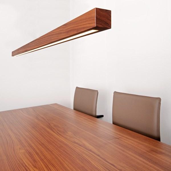 Pendelleuchte titlis mit indirekter beleuchtung for Esstisch lampe selber bauen